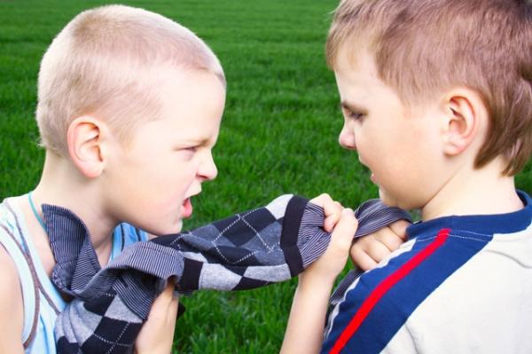 پرخاشگری در کودک
